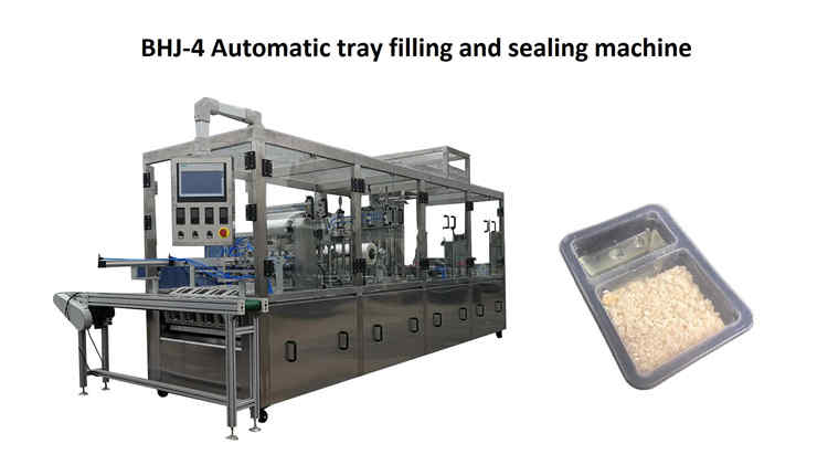 January 30,2019,one BHJ-4 automatic cup filling sealing machine sent to custom
