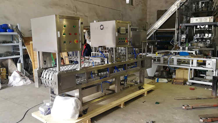 January 29, 2019,BHP-4 automatic cup washing filling and sealing machine