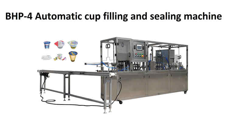 March 12, 2019,BHP-4 automatic cup filling and sealing machine is sent to Qatar