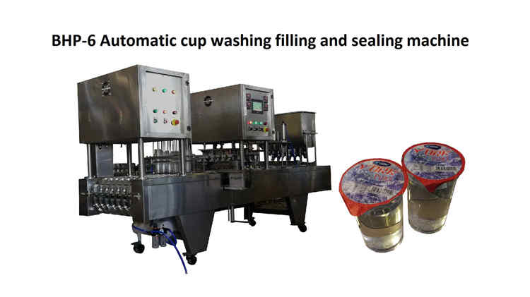 2019-5-21, BHP-6 Automatic cup washing filling and sealing machine