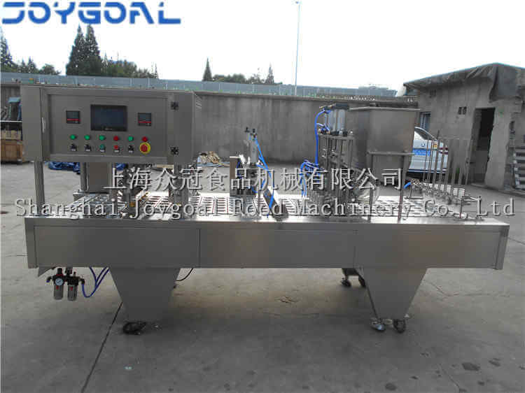 September 5th,2018,one BHP-6 automatic cup filling and sealing machine