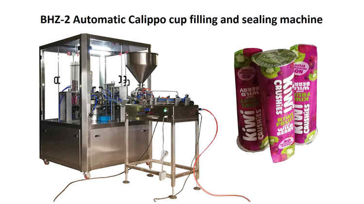 2019-9-24, BHZ-2 Automatic Calippo cup filling and sealing machine