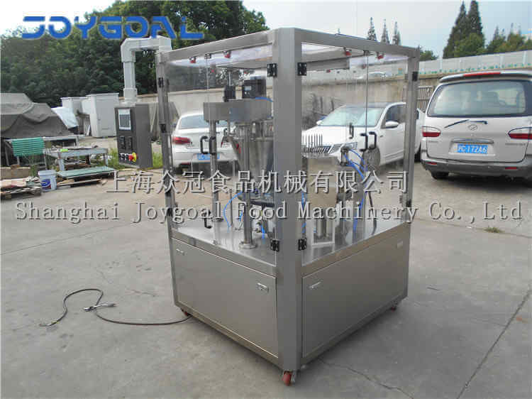 2018-9-20,BHZ-2A rotary coffee capsule filling sealing machine to customer