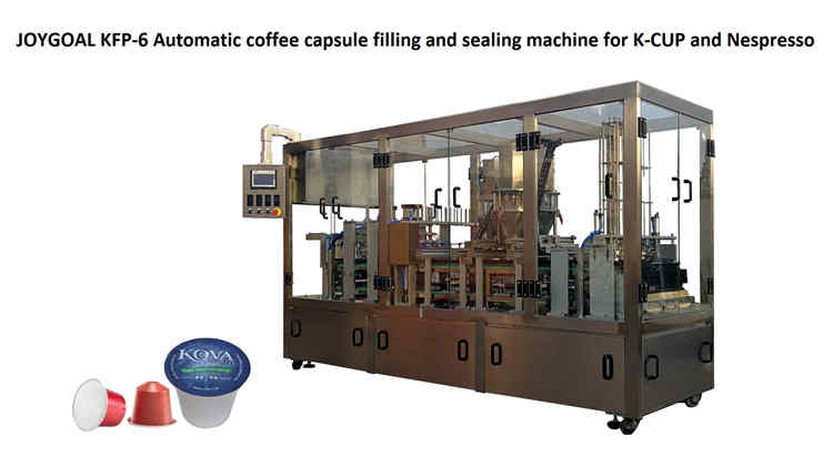 2019-8-12,KFP-6 Automatic K-CUP and Nespresso filling and sealing machine
