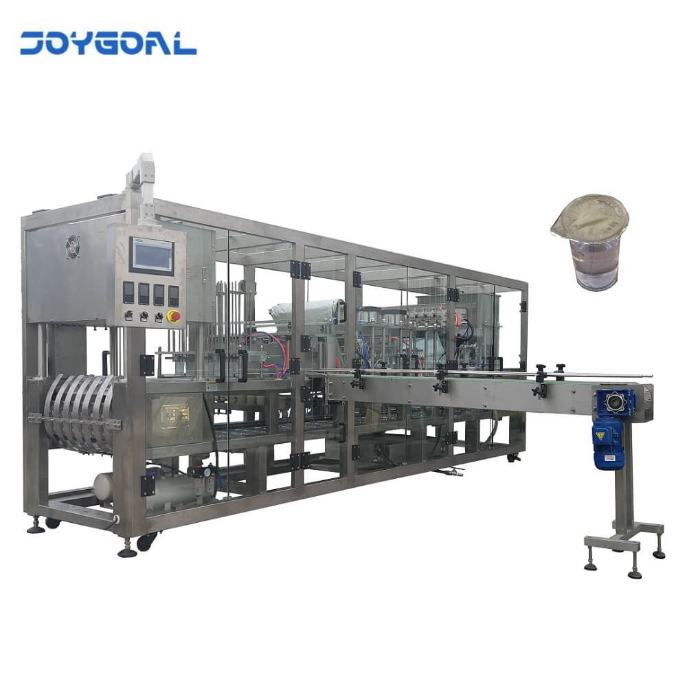 BHJ-12 Automatic water cup washing filling and sealing machine with date coder