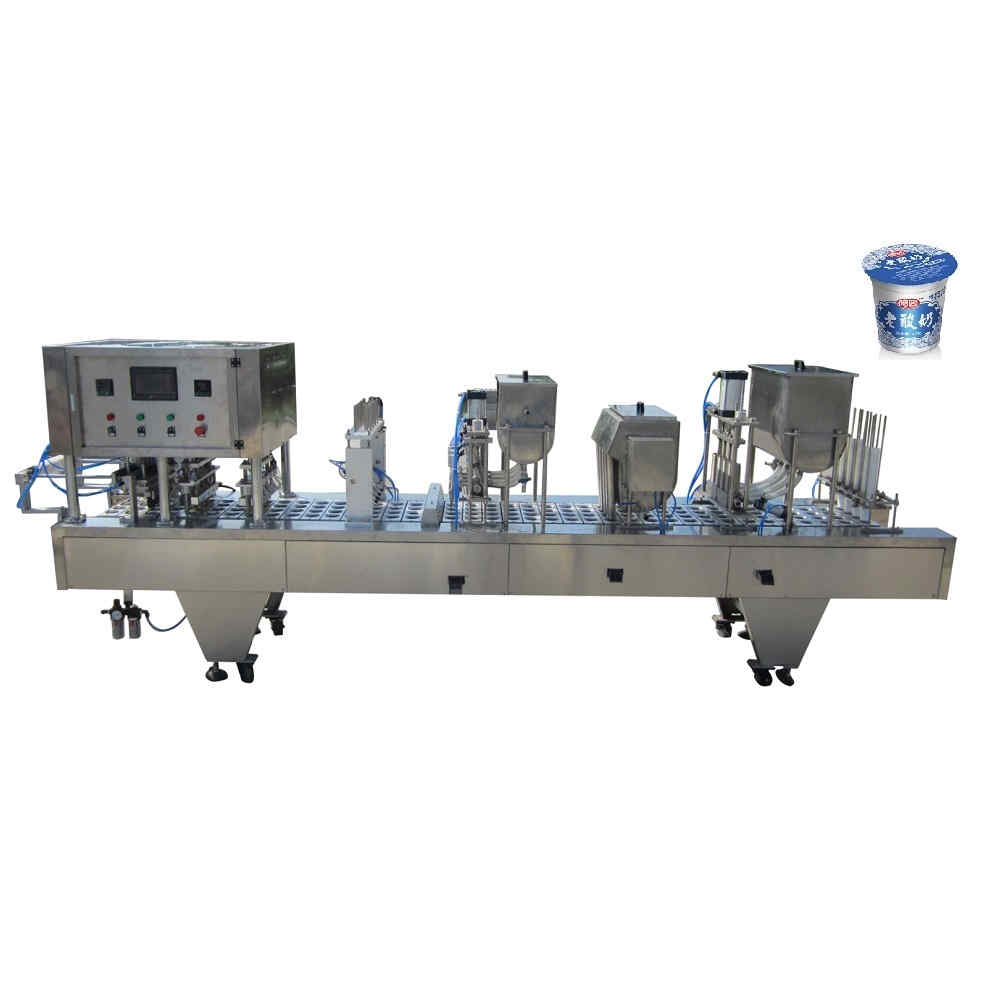 BHP-4 automatic cup filling and sealing machine
