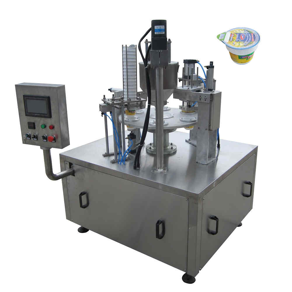 BHZ-1 automatic cup filling and sealing machine for powder