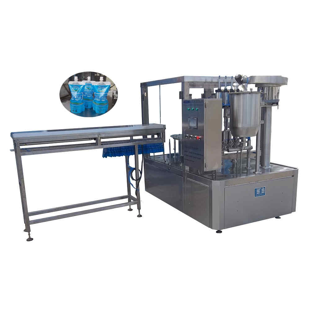 ZLD-4A Automatic doypack bag filling capping machine