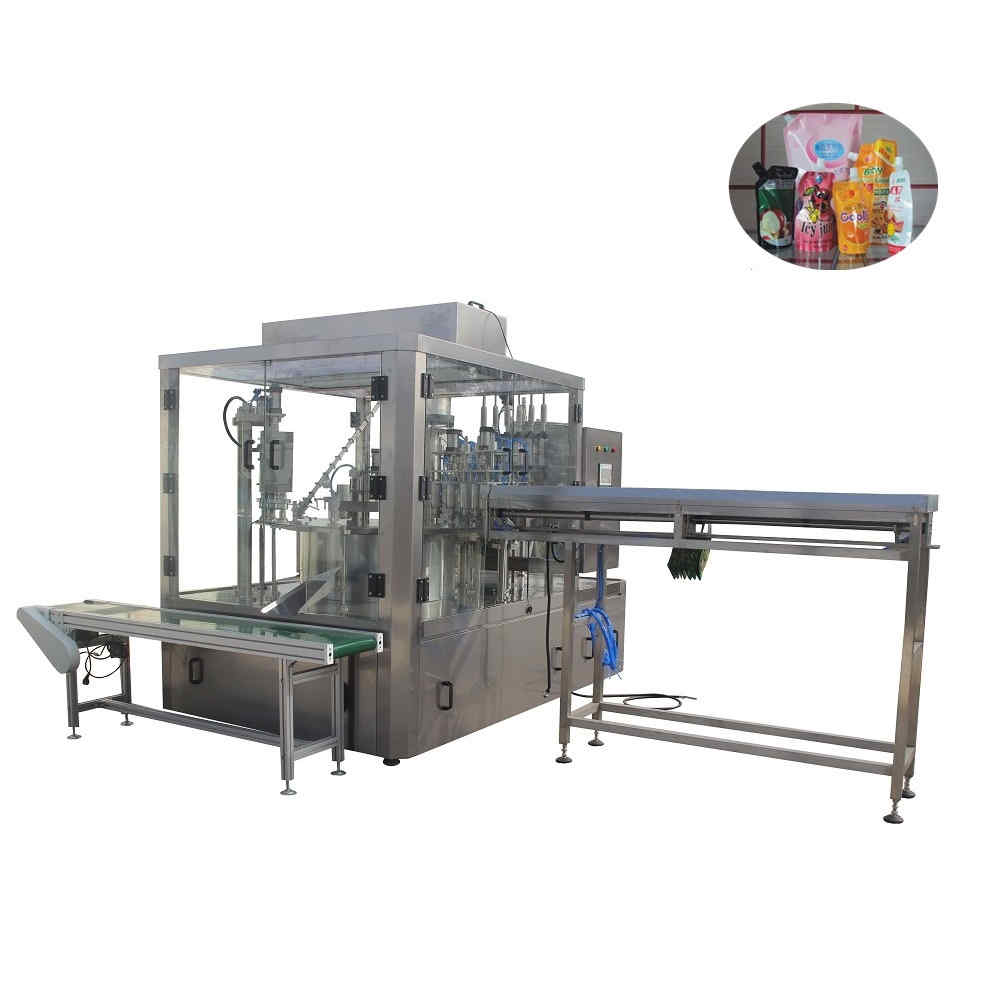 ZLD-6A Automatic spouted pouch filling capping machine