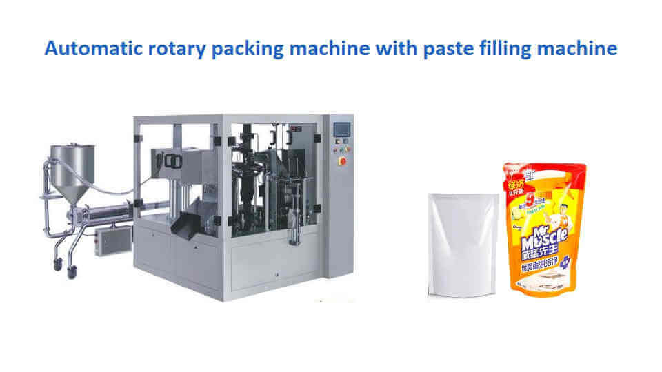 GD-8-200 Automatic bag packing machine for cream